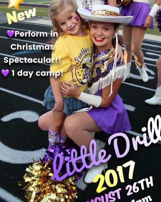 Panther Pride's Lil' Drill Camp happens this Saturday