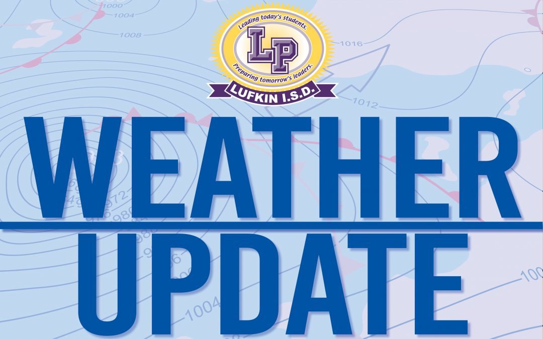 WEATHER UPDATE: School canceled Tuesday, Jan.16 – delay until 10 a.m. for Wednesday