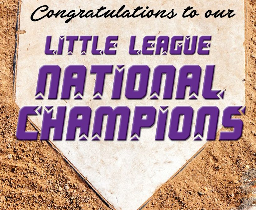 Help congratulate the Little League national champions!