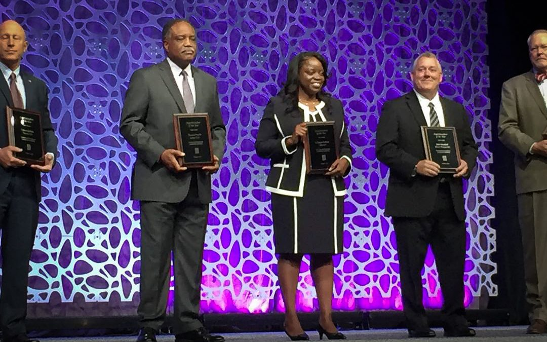 Congratulations to Dr. LaTonya Goffney, the Texas Superintendent of the Year!