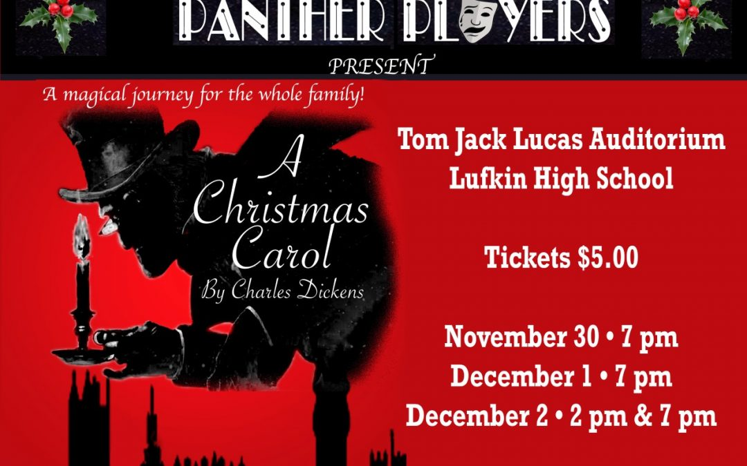 Panther Players Present: Charles Dickens' A Christmas Carol