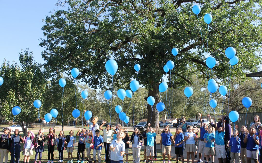Trout Primary supports student on World Diabetes Day