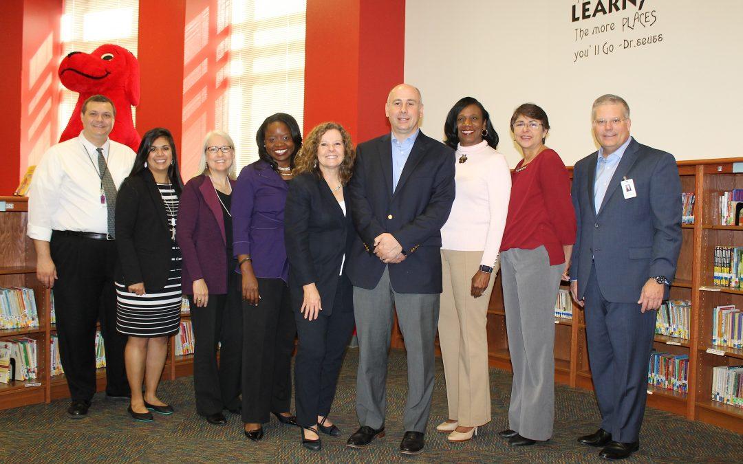 SBOE Board President Visits Dual Language Classes