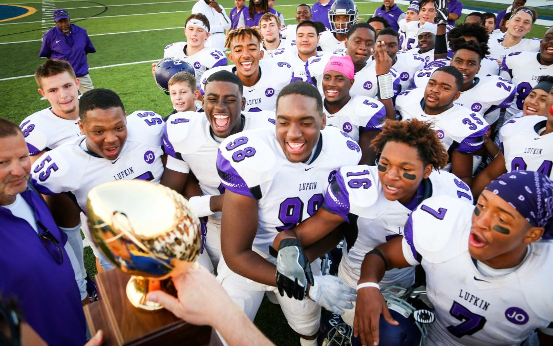 AREA CHAMPS! Photos from the Lufkin Panthers' second-round playoff football win