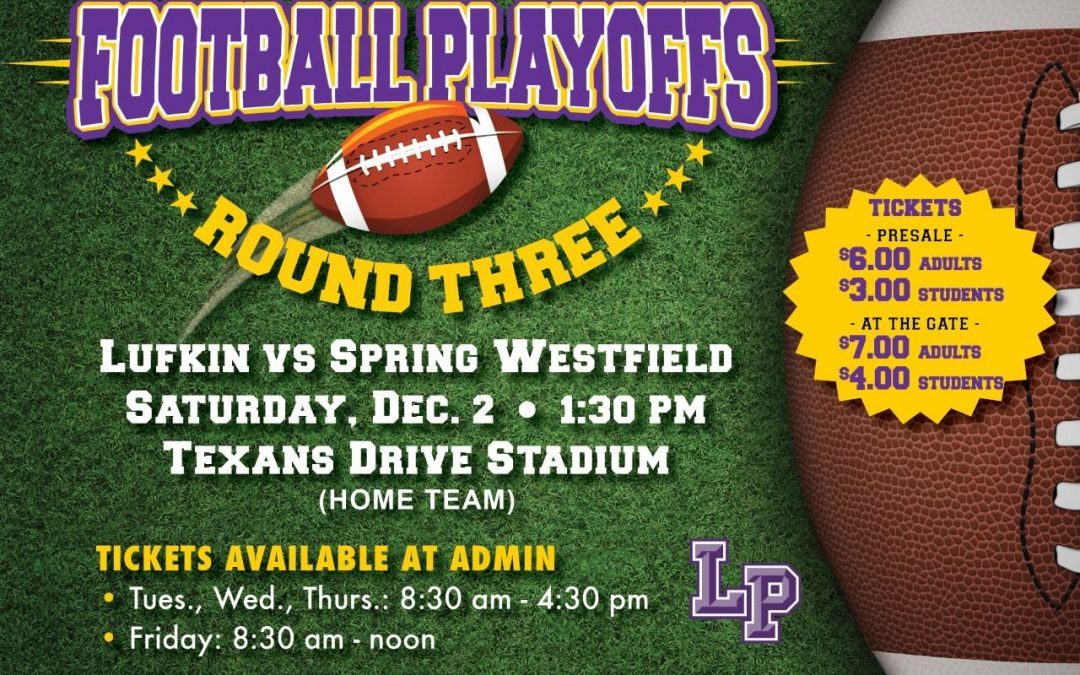 Get your playoff tickets today!!