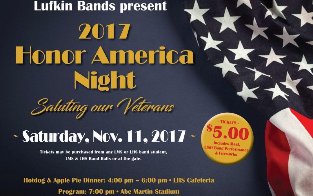 2017 Honor America Night