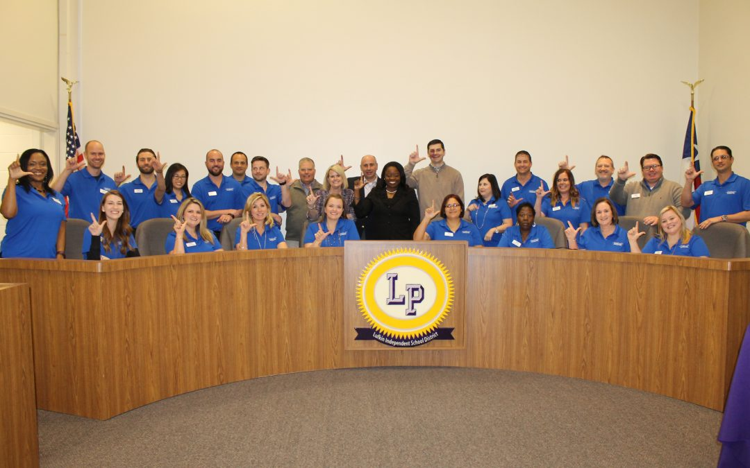 Chamber's Leadership Lufkin class visits LISD for Education Day