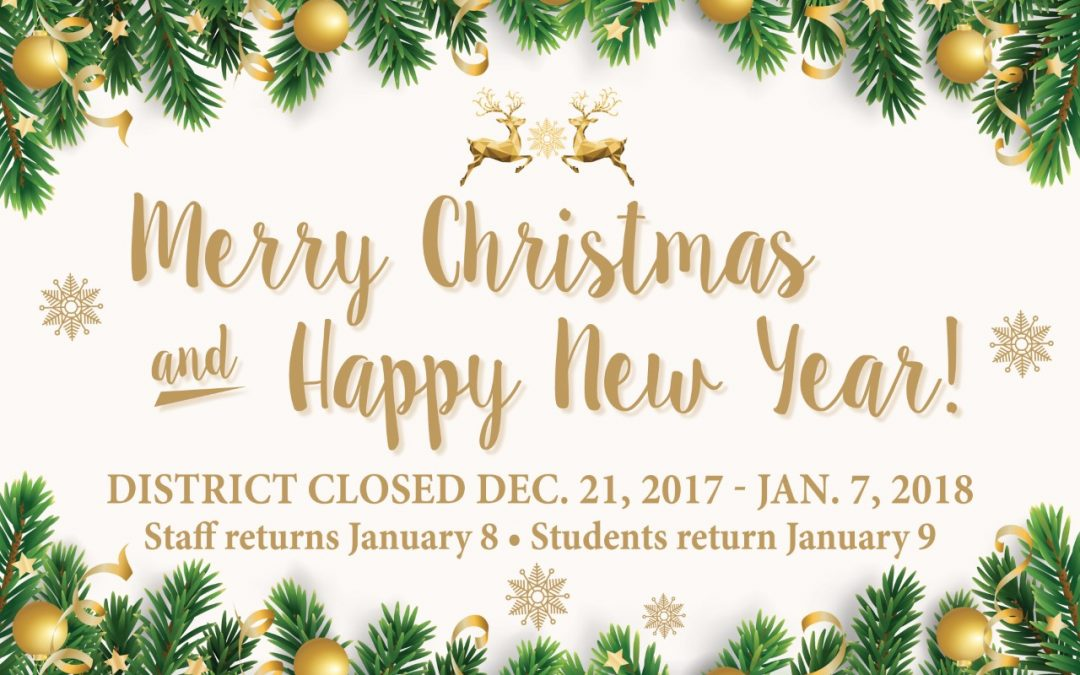 Merry Christmas and Happy New Year from Lufkin ISD!
