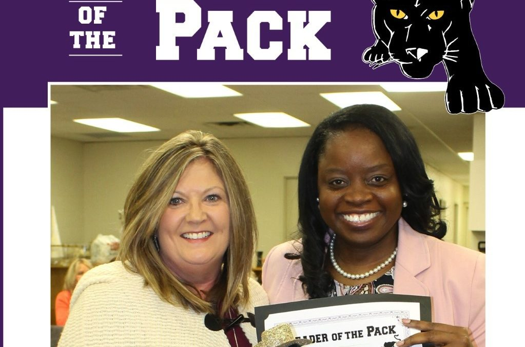 Leader of the Pack Award: Anderson Principal Cindy Tierney