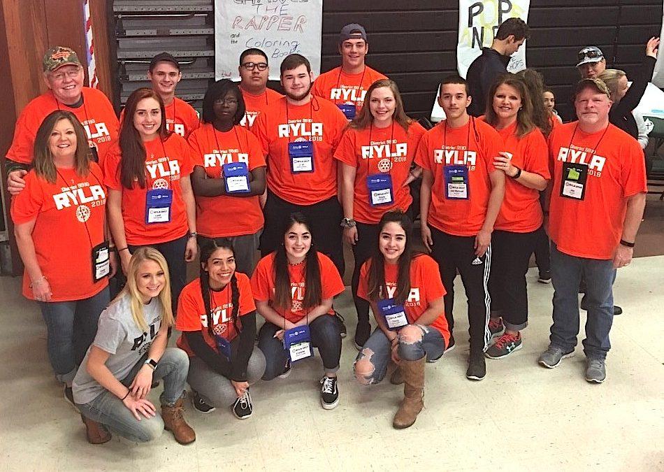 Rotary Youth Leadership Award development program