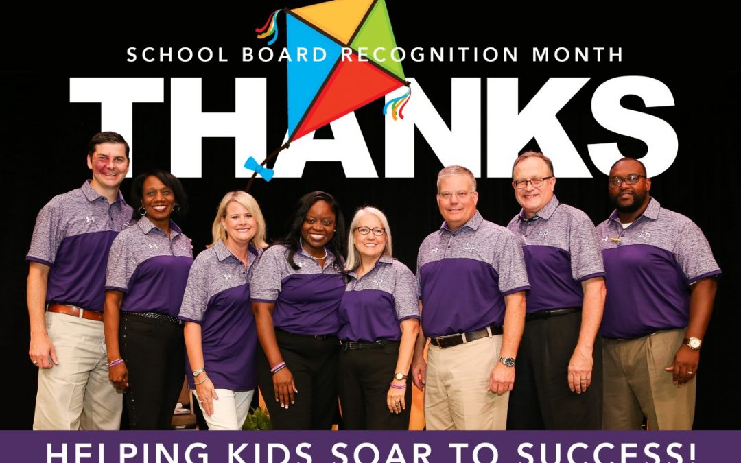 THANK YOU, school board members!
