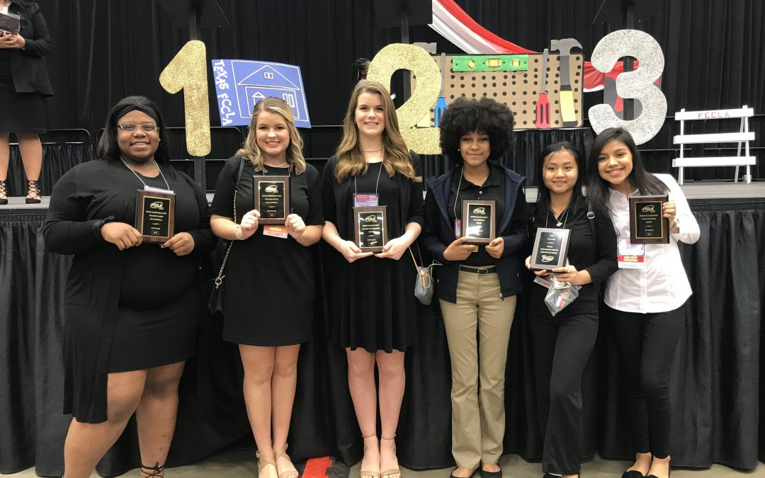 Six LHS Students advance to State in FCCLA competition