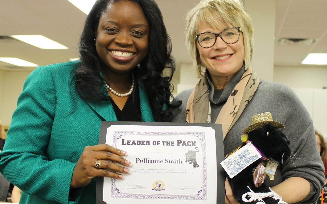 Leader of the Pack: Pollianne Smith, Advanced Academics Director
