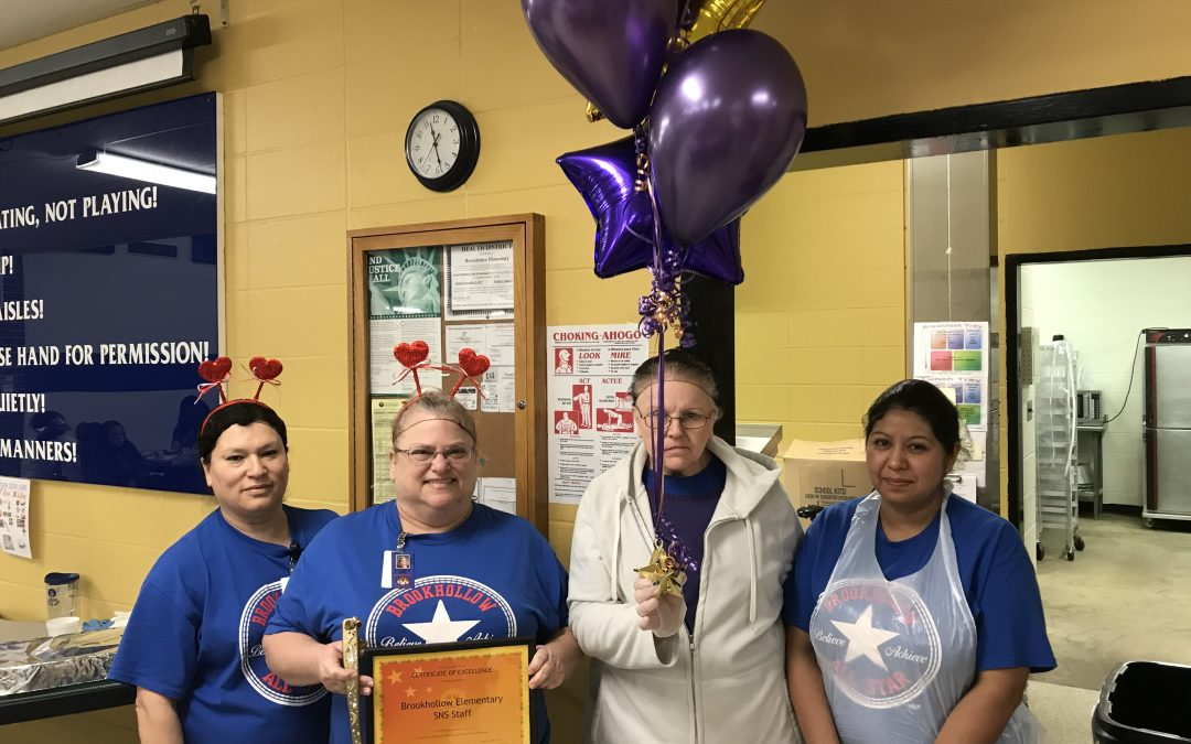 And the winner of the Golden Spatula is…Brookhollow Cafeteria!