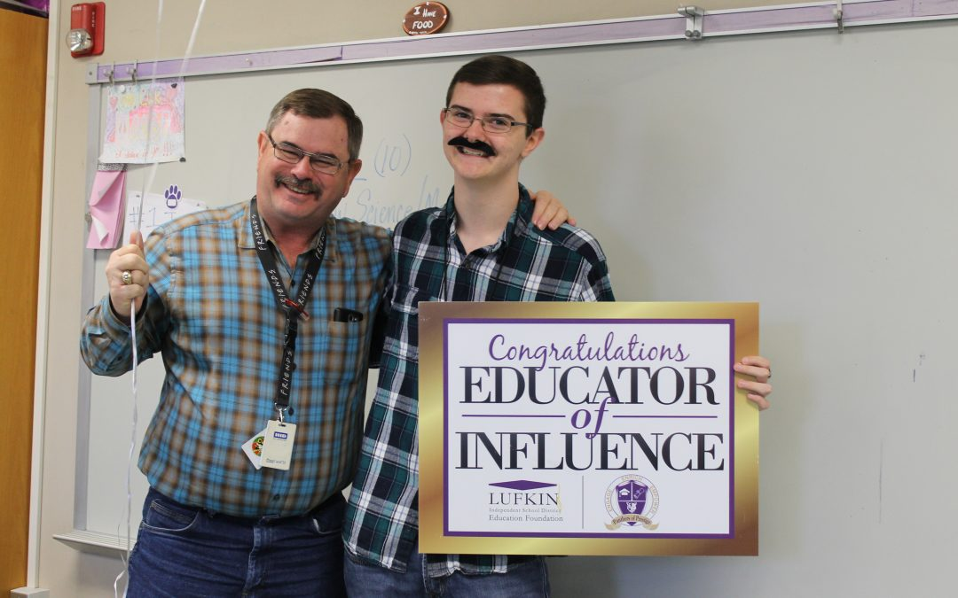 LHS Top 20 surprise their Educators of Influence