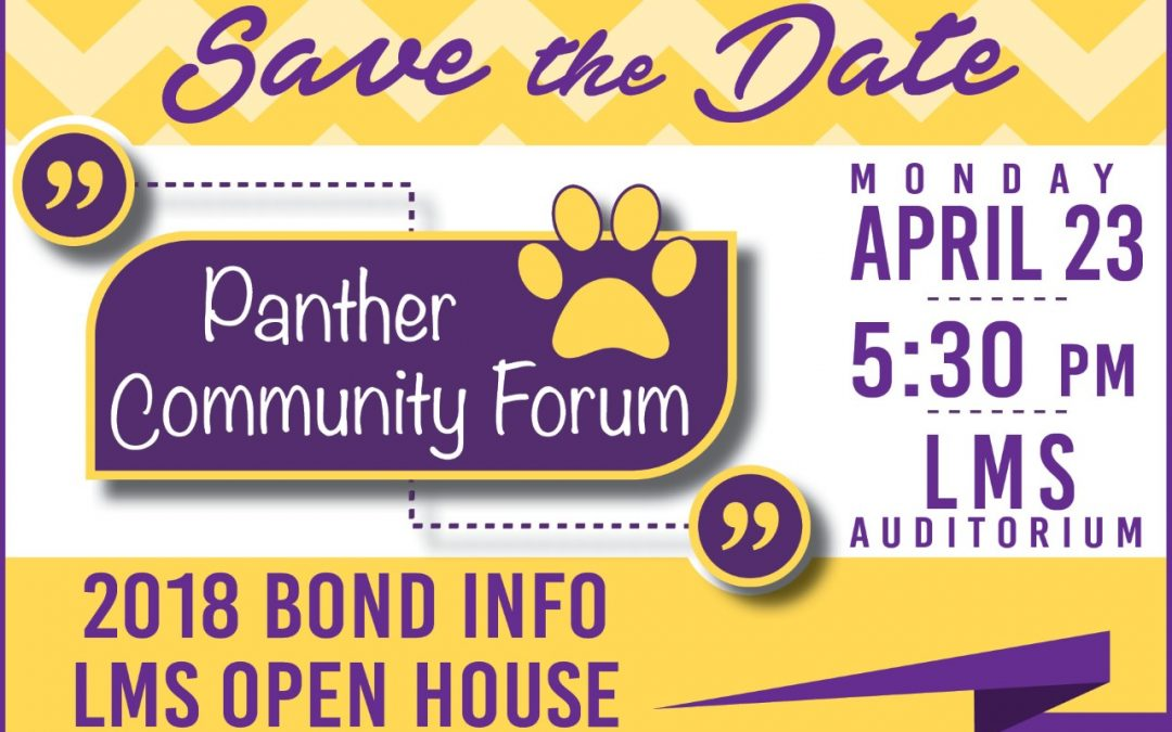 Come to the Panther Community Forum & LMS Open House