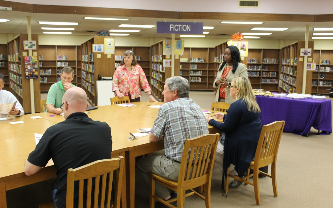 Lunch & Learn provided bond information to parents and community members