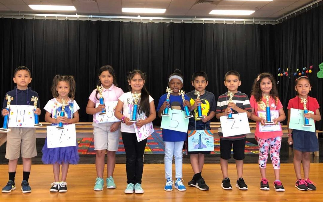Spectacular Spellers: Dual Spelling bee at Burley Primary in English and Spanish