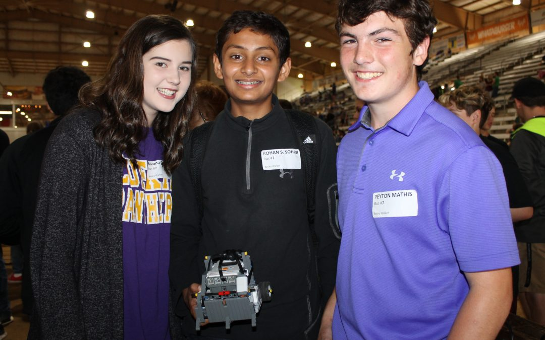 Lufkin students competed at the Angelina County Science & Tech Fair