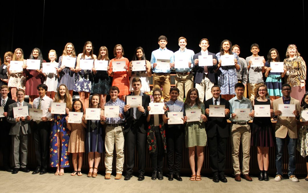 SFA STEM Academy inducts 31 students