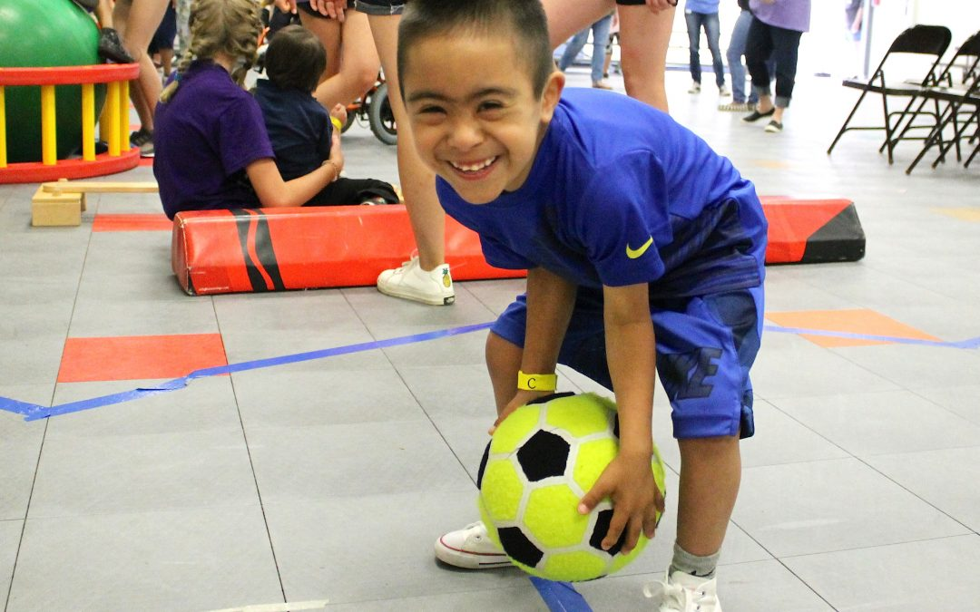 Herty Primary hosts campus Special Olympics