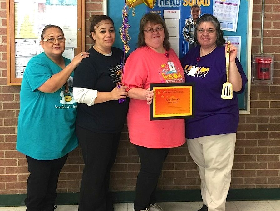 Kurth Primary SNS wins the Golden Spatula for May!