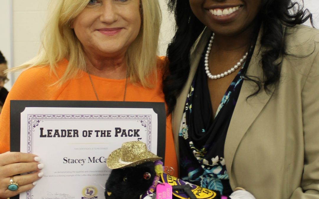 Leader of the Pack award goes to Stacey McCarty