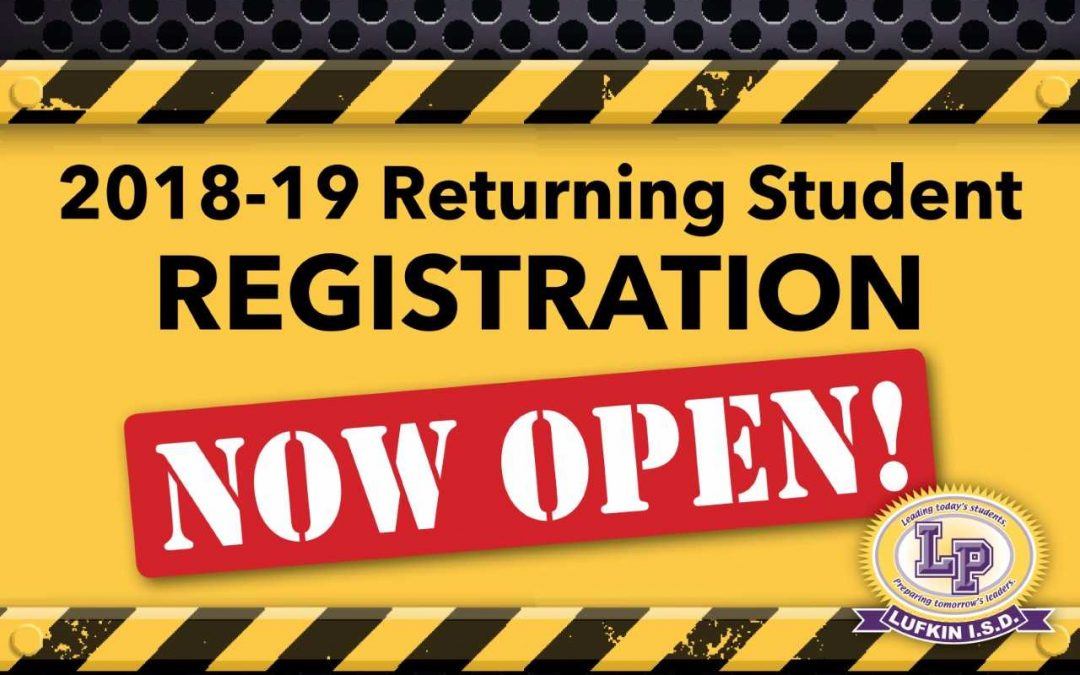 Register your returning or new student today!