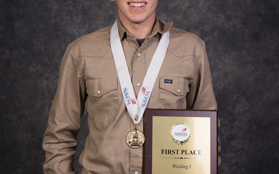 NATIONAL CHAMP! Lufkin High School graduate Dakota Stockman wins U.S. welding title