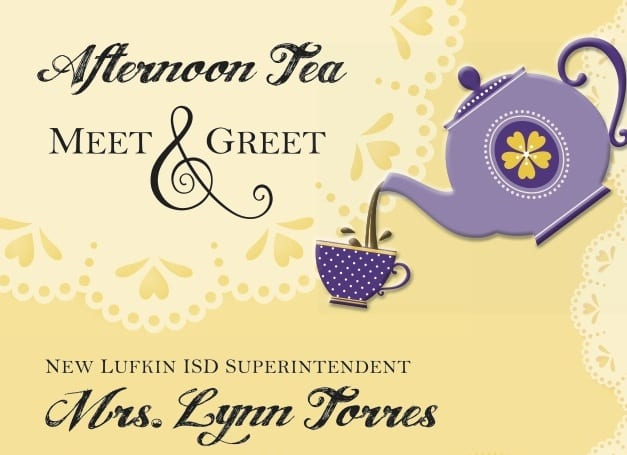 Come to an Afternoon Tea Meet & Greet for New Superintendent Lynn Torres