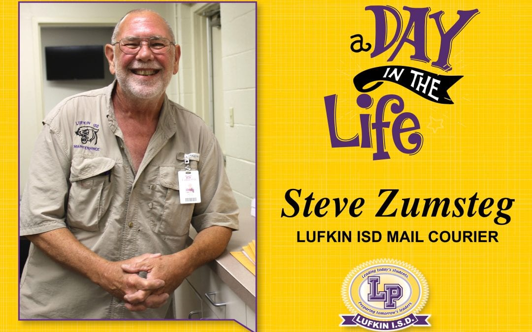 A Day in the Life of Mail Courier Steve Zumsteg
