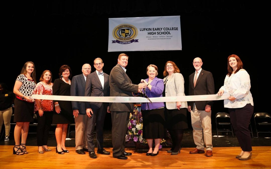 Ribbon cutting celebrates local partnerships for Early College High School (photos)