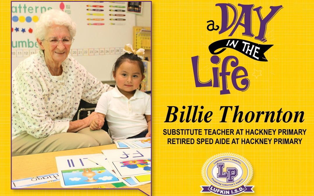 A Day in the Life of: Billie Thornton