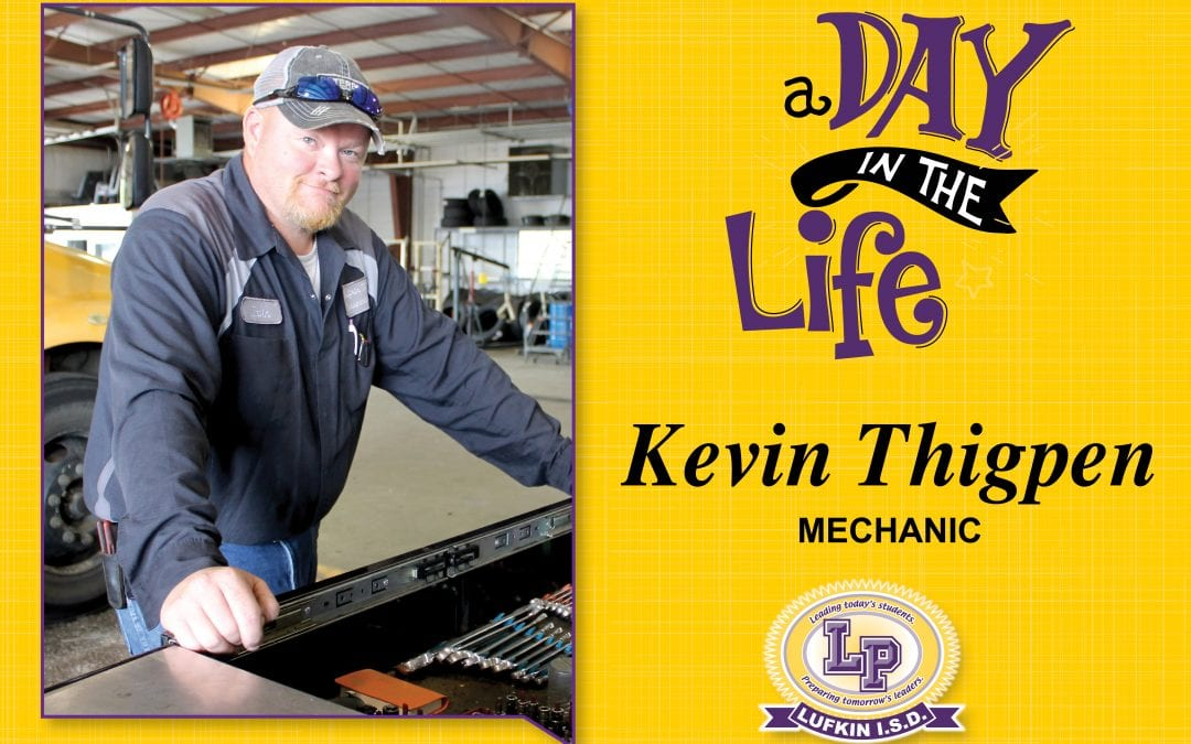 A Day in the Life of Kevin Thigpen