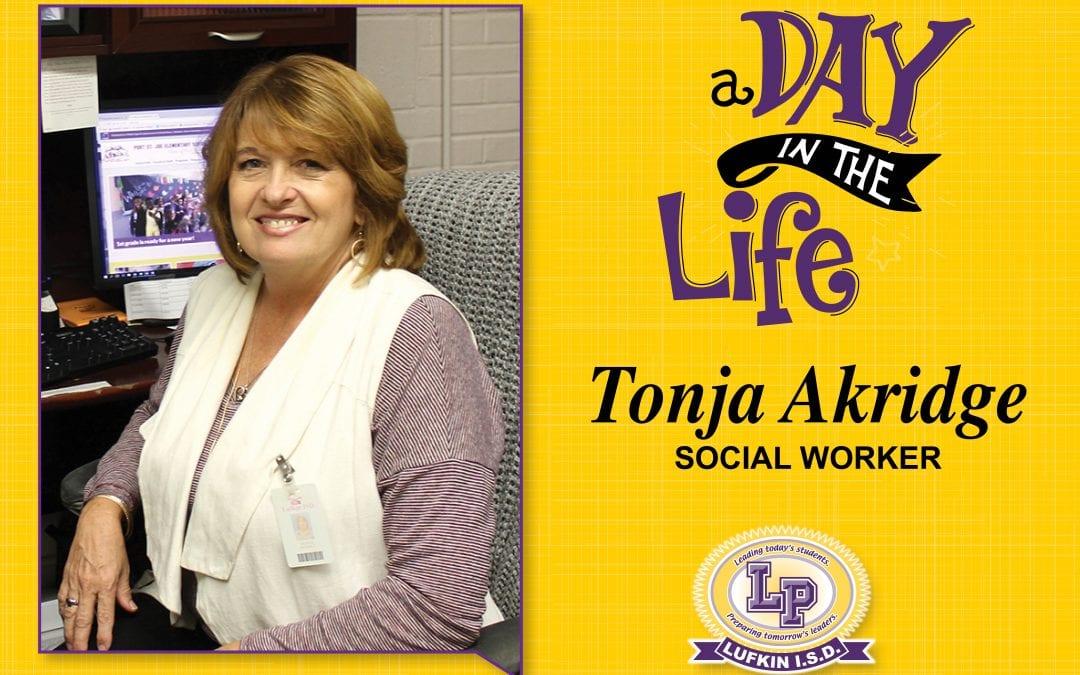 A day in the life of Tonja Akridge