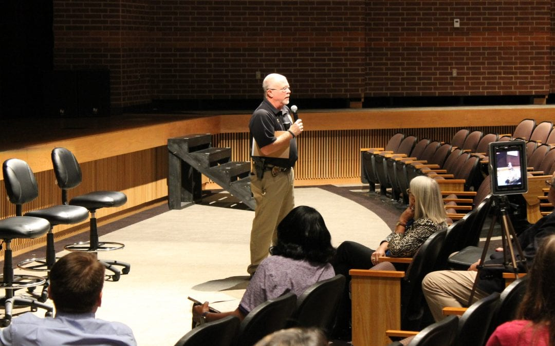 Panther Community Forum addressed bond and safety & security
