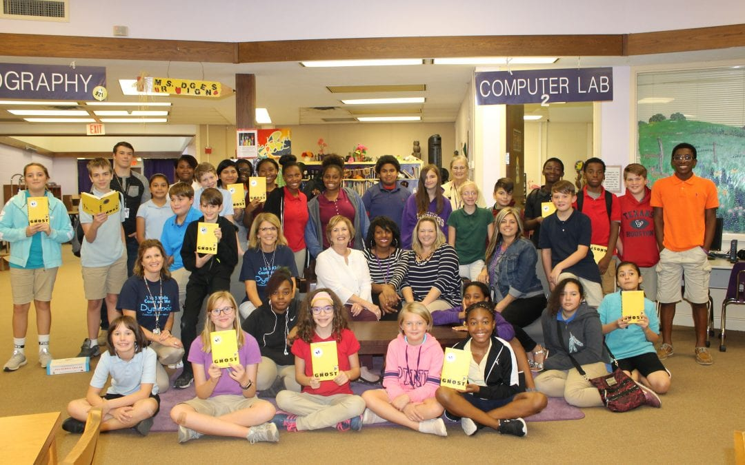 LMS Project Lit Book Club has great first turnout! (Photos)