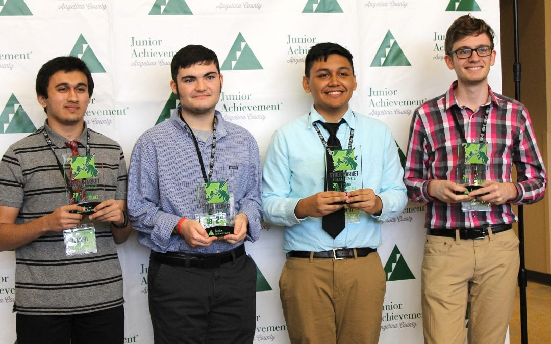 LHS team places 2nd in first ever Junior Achievement Stock Market Challenge