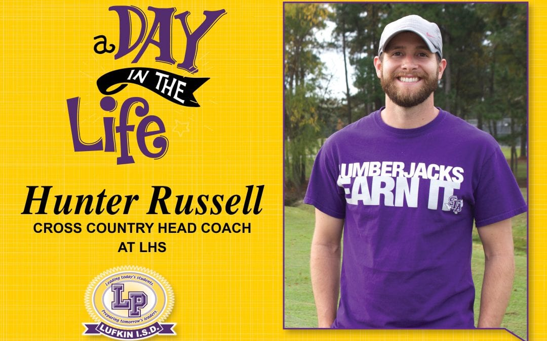 A Day in the Life of Coach Hunter Russell