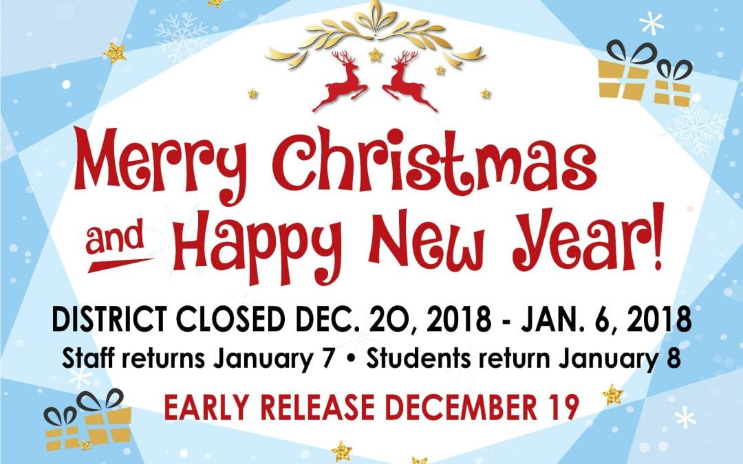 Early release on December 19th