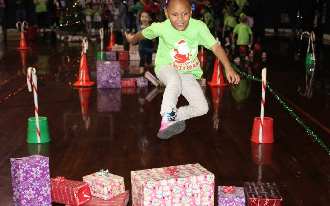 Santa is on the run at Dunbar Primary's Santa Chase (PHOTOS)