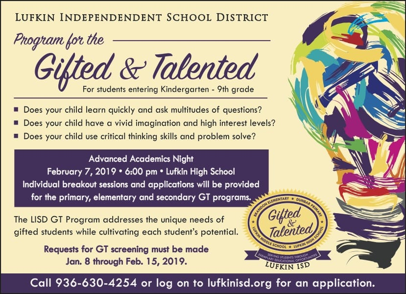 Gifted and Talented Screenings and Advanced Academics Night