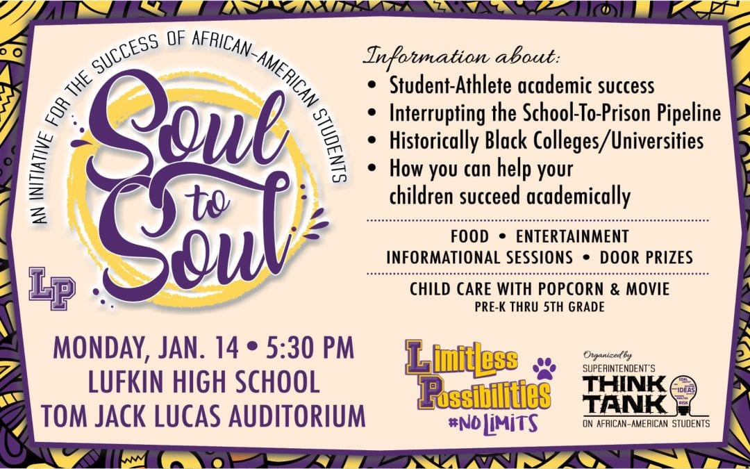 Soul to Soul event tonight