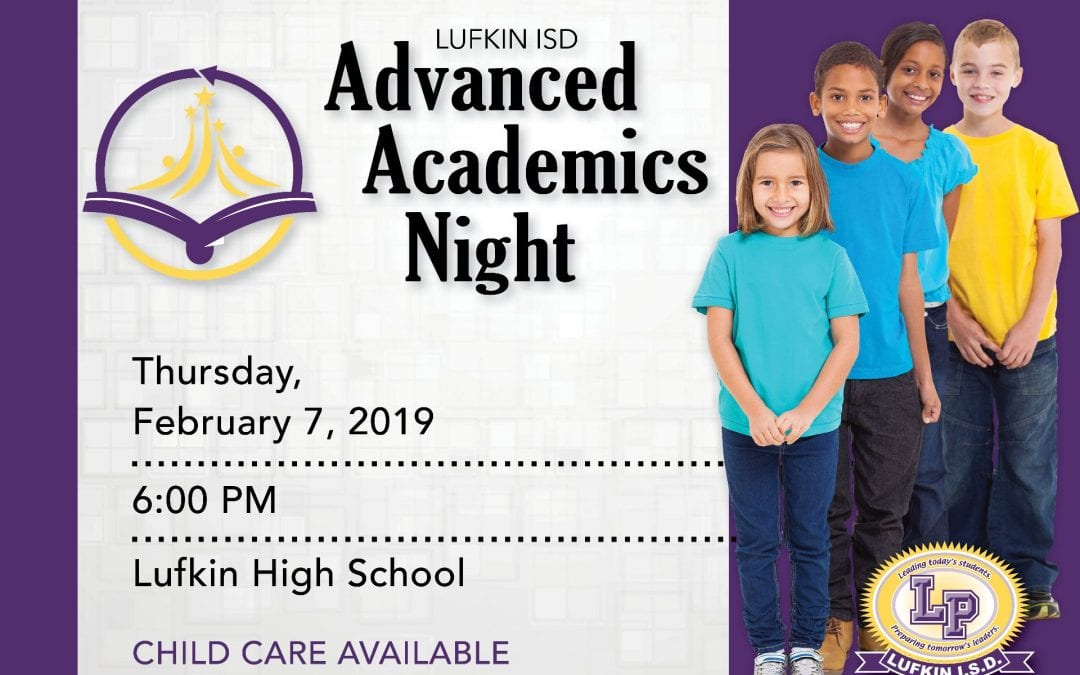 Attention Parents: Advanced Academics Night is Thursday Night
