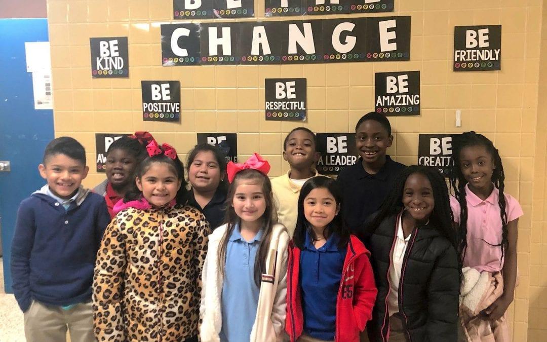 Second Grade MLK Poster Contest Winners (Photos)