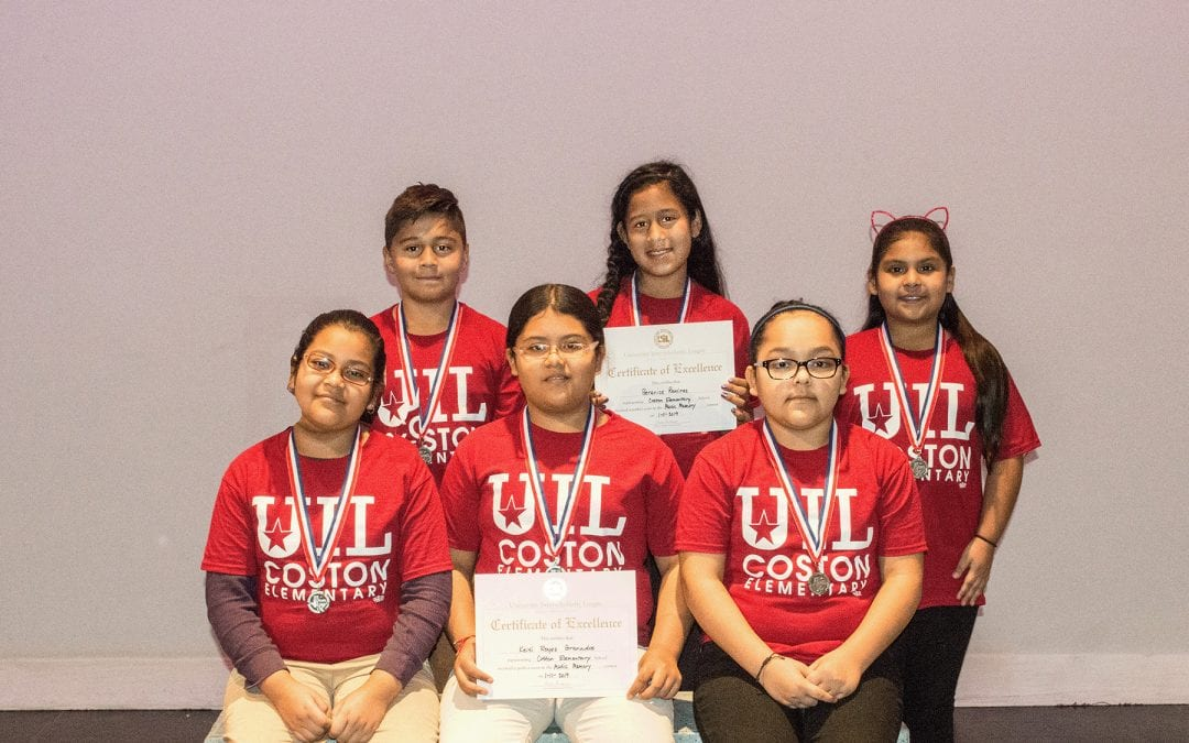 Primary and Elementary UIL Award photos