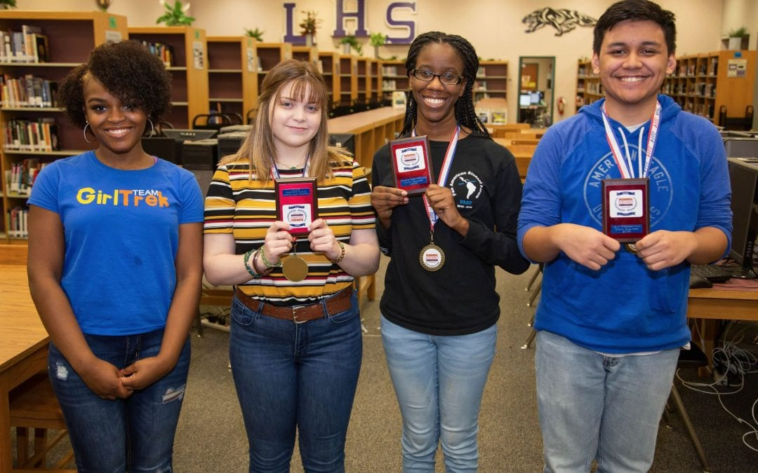 Four LHS students will compete at the BPA State Leadership Conference