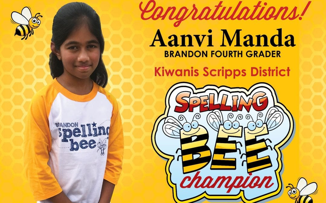 Fourth grade spelling bee champ heading to Houston bee