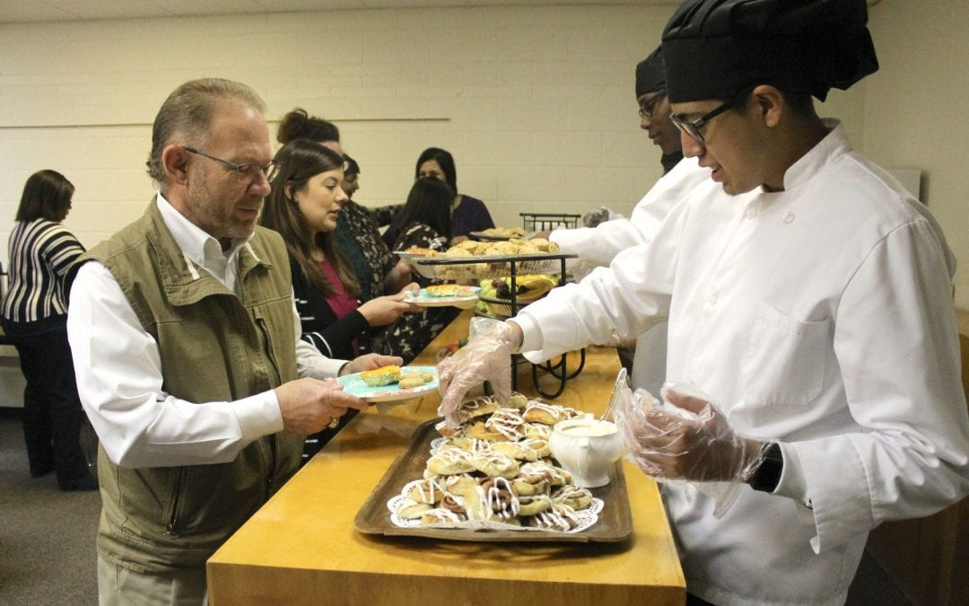 Culinary students serving up style