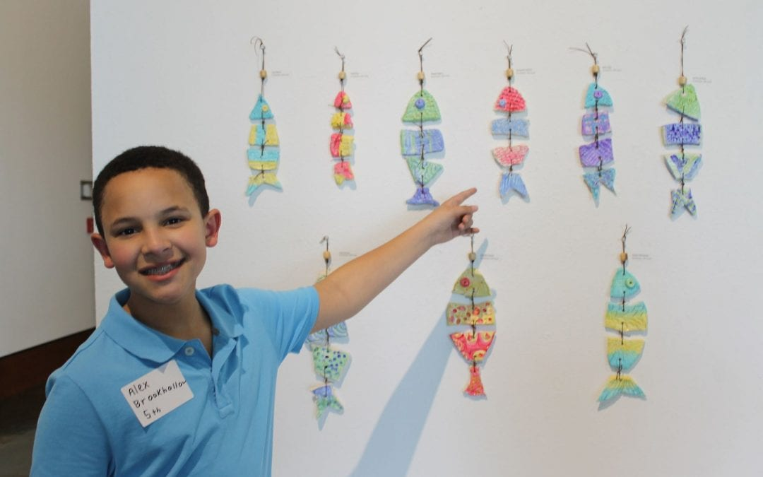 Lufkin ISD Young Scholars art show at the Museum of East Texas